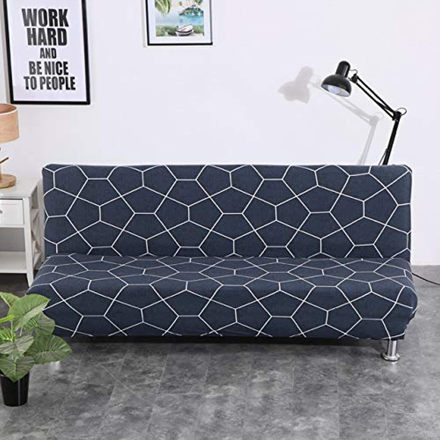 Elastic Sofa Bed Covers for Living Room Sofa Towel Slip-Resistant Sofa Bed Cover Cotton Strech Slipcover   colour24, Large 180 to 200cm