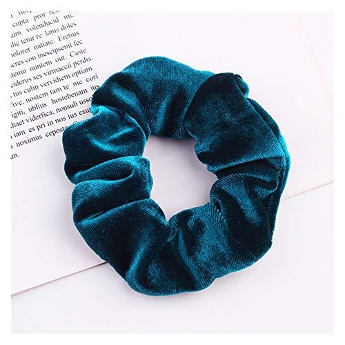 Headwear 1 pieza de la cuerda de la cabeza de terciopelo Accesorios de la banda de pelo de la cuerda del cabello Joyería de la banda elástica de la banda del pelo del tocado de la cabeza de la mujer C