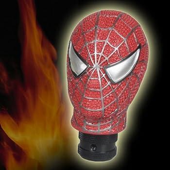 D1 Universal Fit Amazing Spiderman Head Shift Knob  Brand New