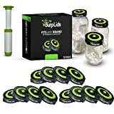 Burp Lids 12 Pack Curing Kit - Fits All Wide...