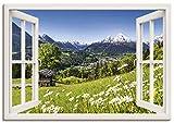 Artland Leinwandbild Wandbild Bild auf Leinwand 100x70 cm