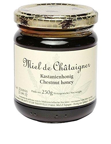 Miel de Châtaignier, französischer Edel-Kastanienhonig, 250g