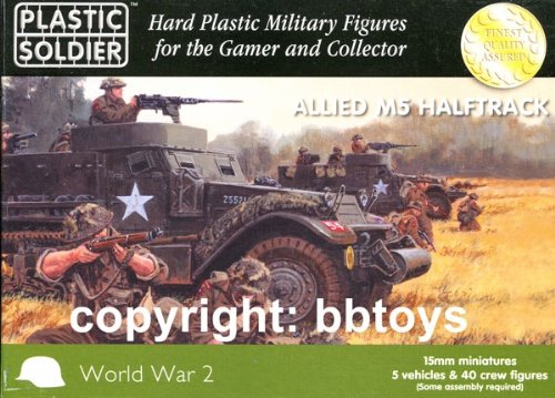 15mm WW2 Allied M5 Halftrack