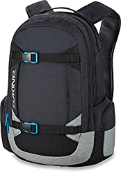 e92d63393729 Dakine s Mission skateboard backpack is a great pack for wearing while  cruising. Its broad should straps connect securely to the pack s shell