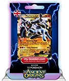 MACHAMP EX 37/98 180HP XY07 ANCIENT ORIGINS - Optimized THUNDERBOLT booster cards - 10 English Pokemon trading cards