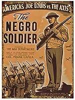 黒人兵士、ブリキのサインヴィンテージ面白い生き物鉄の絵画金属板パーソナリティノベルティ