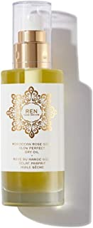 REN Moroccan Rose Gold Glow Perfect Dry Oil, 3.3 Ounce