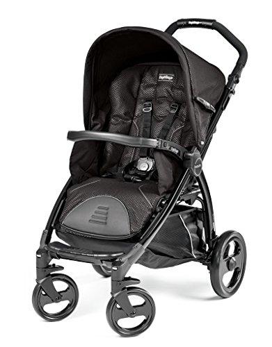 Peg Perego - Cochecito de bebé, cómodo negro Mod Black (schwarz)