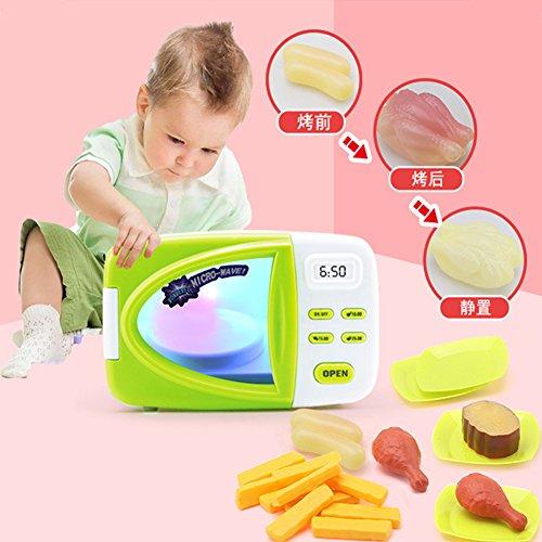 Metermall Home 1 set kinderen simulatie magnetron speelgoed met simulatie voedsel rollenspel keuken klassieke speelgoed set