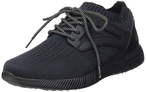 Dockers by Gerli Herren 42LI009-700100 Sneaker, Schwarz (Schwarz 100), 42 EU