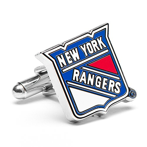 NHL New York Rangers Cufflinks, Officially Licensed