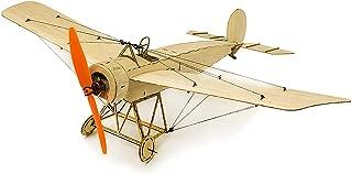 Cigooxm DW Hobby K0801 Mini Fokker-E Balsa Wood 420mm Wingspan Biplane RC Aircraft Toy KIT Airplane for DIY