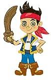 Amscan - Palloncino gigante di Jake e i pirati dell'Isola che non c'è, altezza: 190 cm