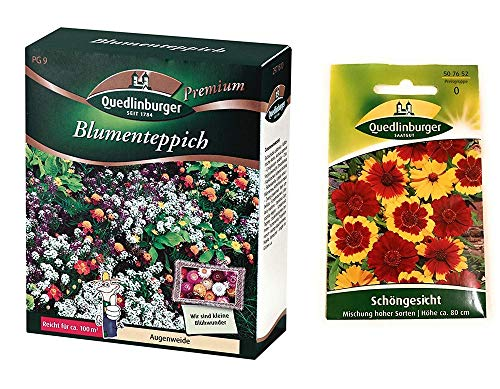 Blumenteppich | Blumenwiese | 1x Schöngesicht kostenlos