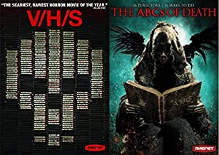 Magnet Masterpiece Theatre Wildly Original Truly Scary Horror Pack: V/H/S & The ABC's Of Death (Modern Horror 2 DVD Collection Bundle)