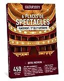 Cultur'In the city Coffret Cadeau - 6 Places - 1200 Spectacles Premium - 450 Salles Partout en France Théâtre, Comédie, One Man Show, Danse, Magie et Autres ! (6)