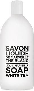 Compagnie de Provence Savon de Marseille Extra Pure Liquid Soap - White Tea - 33.8 fl oz Plastic Bottle Refill