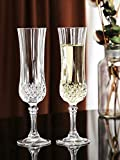 Aeternum Elegant and Stylish Wine Glass ,Set of 2, Compatible as Champagne Glass with Stem Stylish...