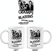 X - Cramps - Blasters - 1982 - California Hall - Concert Poster Mug