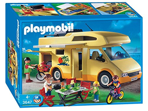 Playmobil - 3647 - Les Loisirs - Famille / Camping car