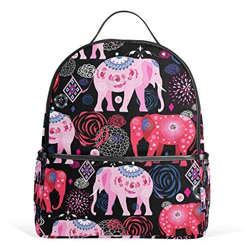 Rucksack mit Elefantenmotiv, für Damen, Teenager, Mädchen, Geldbörse, modische Tasche, Büchertasche, Kinder, Reisen, College, Freizeit-Rucksack, Jungen, Vorschule, Heimkehr, Schulbedarf, Mini