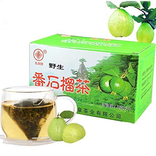 Chinesischer Kräutertee Guavenblätter Tee Teebeutel 2g X 20bags Neuer duftender Tee Grüner Tee Gesundheitspflege Blumentee Hochwertige gesunde grüne Nahrung