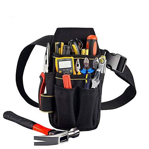 Copechilla porta utensili da lavoro cintura 15 tasche,professionale e compatto,Materiale doppio strato impermeabile ispessimento 600d oxford tela per elettricista,carpentiere,tecnico manutenzione