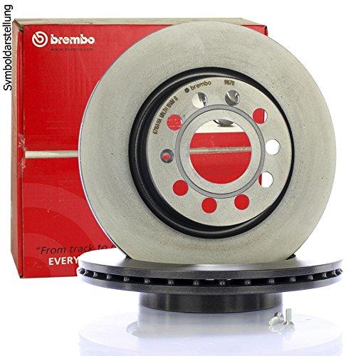 Brembo 09.4939.21 - Disco Freno con Verniciatura UV (Set di 2) - Anteriore