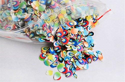 Holzsammlung 10000 PC 3D Designs Nail Art Nailart Manicure Lehm Canes Sticks Rods Stickers Gel Tips Manikuere Dekoration #3