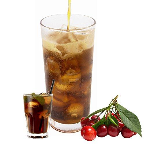 Cola Kirsch Geschmack extrem ergiebiges allergenfreies Energy Drink - Getränkepulver Sportgetränk