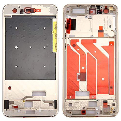 JUNXI Phone for Huawei Honor 9 Frontalino Cornice LCD Cornice castone (Nero) Altamente raccomandato (Colore : Gold)