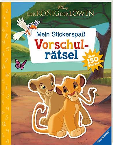 Mein Stickerspaß Disney Der König der Löwen: Vorschulrätsel: Über 150 Sticker