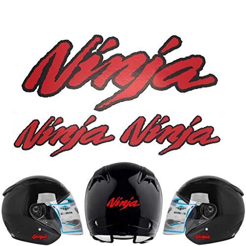 PSLER Motorrad-Aufkleber, Helm-Aufkleber, dekorativer Aufkleber für Kawasaki Ninja