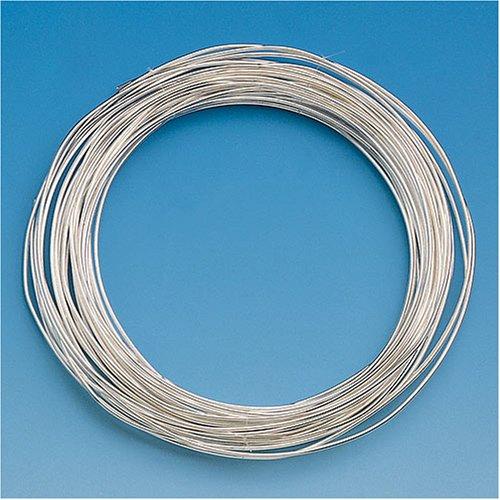 KnorrPrandell 6461107 Draht, 1.0 mm Durchmesser - 4 m/Ro, silber