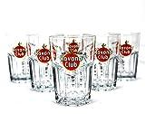 Original Havana Club Rum Gläser 6er Set ~mn 15 7k2r
