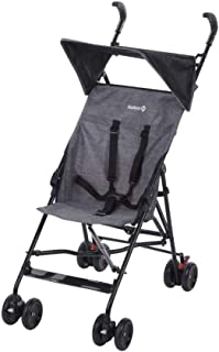 Safety 1st Peps Silla de Paseo ligera pesa solo 4,6 kg, plegable y compacta, Cochecito de viaje, con capota solar, color Black Chic