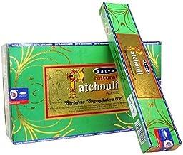 Satya Natural Series - Patchouli - 180 Gram Bulk Box - Premium Incense Sticks