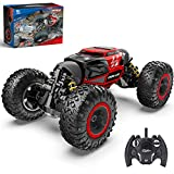 BEZGAR RC Car, 4X4 Kids Off Road 1:14 Large Size Transform Remote Control Car High Speed Fast Racing Monster Vehicle Hobby Truck Electric Toy with Rechargeable Batteries for Boys Teens Adults