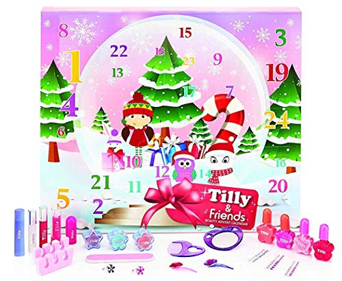 Unbekannt Tilly & Friends - Schneekugel Beauty Adventskalender! Perfekte Verwöhnung für Pre Teens in der Party-Saison!