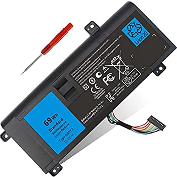 69WH Type G05YJ Battery Replacement for Dell Alienware 14 A14 M14X R3 M14X R4 M14X R1 14D-1528 14D-1528 ALW14D-1528 ALW14D-5528 Fits 8X70T Y3PN0 0G05YJ