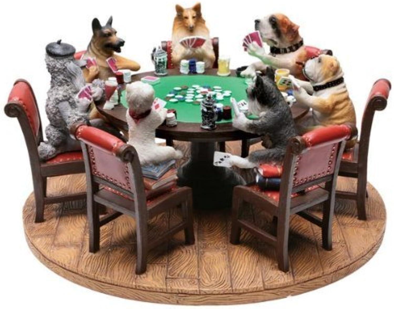 compra limitada Dry Branch Branch Branch Sports Design 9  Poker Dogs Figura by Dry Branch Sports Design  marcas de diseñadores baratos