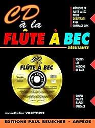 Partition : CD a la flute a bec