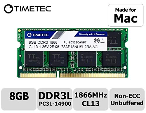 Timetec Hynix Ic 8Gb Ddr3 Pc3-14900 1866Mhz Compatible With Selected Apple Imac (8Gb)