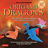 Origami Dragons Kit /Anglais: Magnificent Paper Models That Are Fun to Fold! (Includes Free Online Video Tutorials)