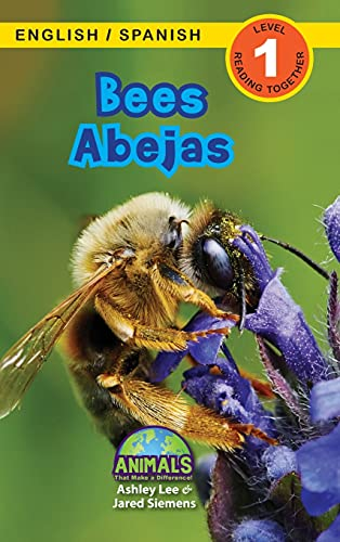 Bees / Abejas: Bilingual (English / Spanish) (Inglés / Español) Animals That Make a Difference! (Engaging Readers, Level 1): 2
