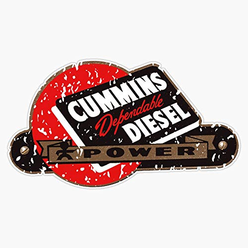 Cummins Diesel Sticker Decal Vinyl Bumper Sticker Decal Waterproof 5'