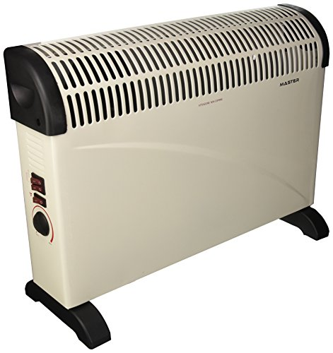 MASTER TC2000 - Termoconvector de Pared con Turbo, Potencia Regulable, 2000W