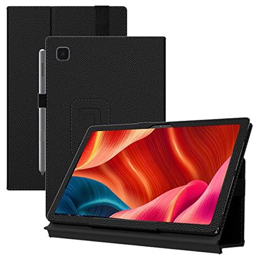 PEYOU Custodia Compatibile con Samsung Galaxy Tab A7 10.4 Pollici, Ultra Sottile Smart Cover in Pelle con Sonno Sveglia, Custodia Cover per Tablet 2020 A7 10.4 Pollici SM-T500 T505 T507 (Nero)