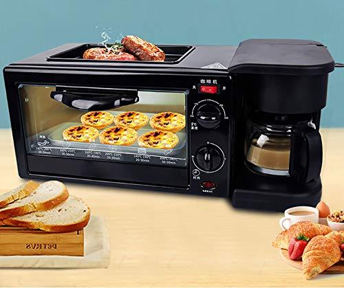 YICHEN Máquina De Desayuno, Tostadora Automática Doméstica Multifuncional, Máquina De Café, Tostadora De Horno, Sandwichera