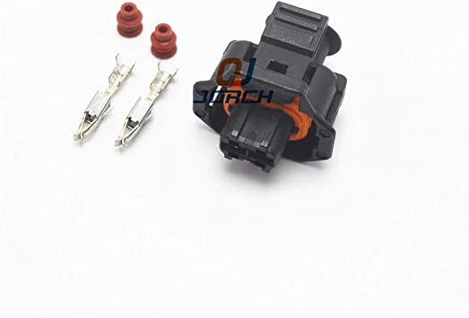 Gimax 10 pcs Sets 2 Way pin Female Automotive Electrical boschs Connector 1928403874 1928403698